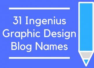 31 Ingenius Graphic Design Blog Names