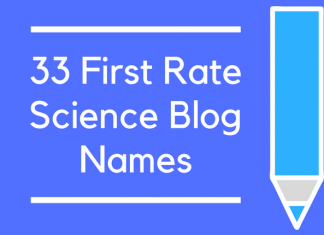 33 First Rate Science Blog Names