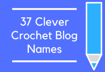 37 Clever Crochet Blog Names