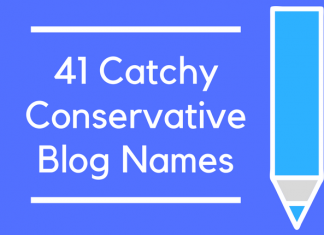 41 Catchy Conservative Blog Names