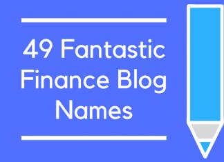 49 Fantastic Finance Blog Names