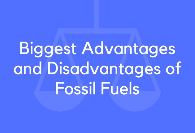 Pros And Cons Of Fossil Fuels >> 17 Biggest Advantages And Disadvantages Of Fossil Fuels