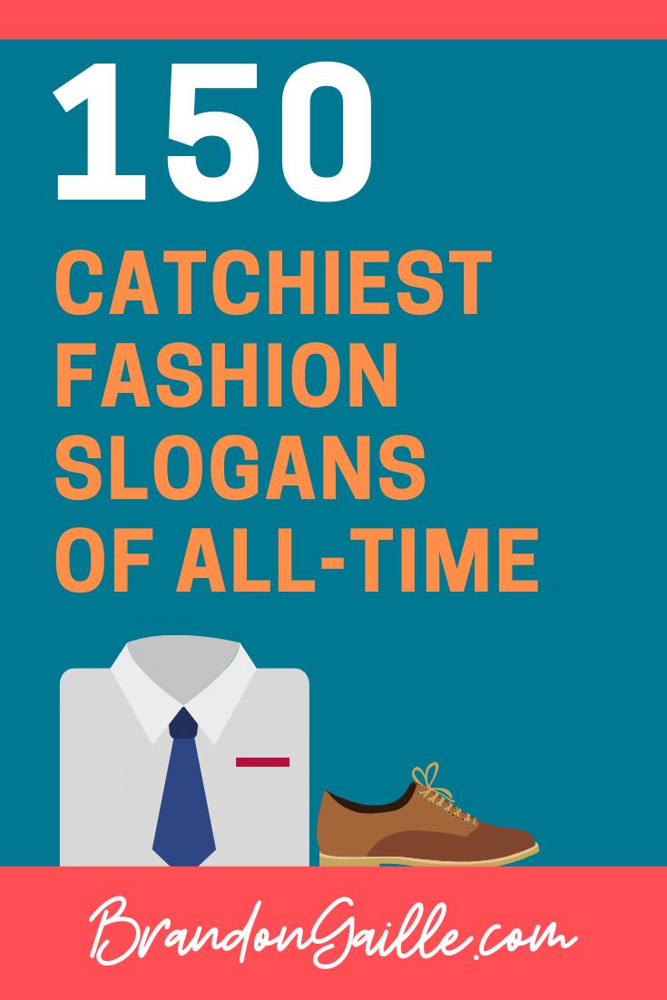 Fashion Slogans