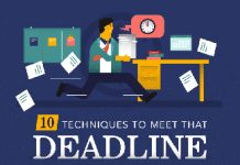 10 Ways to Meet Your Deadline Everytime