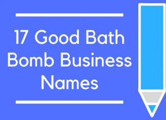 17 Good Bath Bomb Business Names
