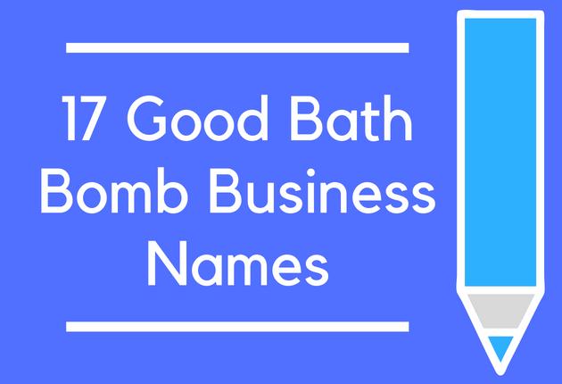 50 Good Bath Bomb Business Names - BrandonGaille.com