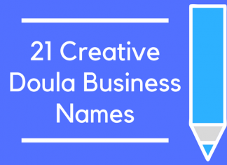 21 Creative Doula Business Names