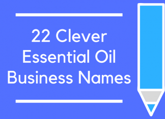 22 Clever Essential Oil Business Names