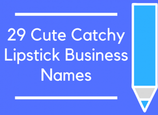29 Cute Catchy Lipstick Business Names