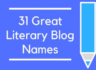 31 Great Literary Blog Names