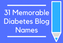 31 Memorable Diabetes Blog Names