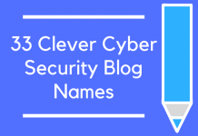33 Clever Cyber Security Blog Names