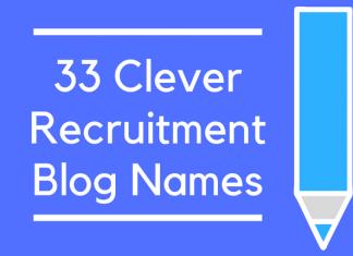 33 Clever Recruitment Blog Names