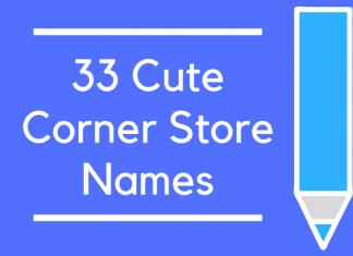 33 Cute Corner Store Names