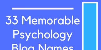 33 Memorable Psychology Blog Names