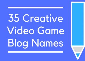 35 Creative Video Game Blog Names