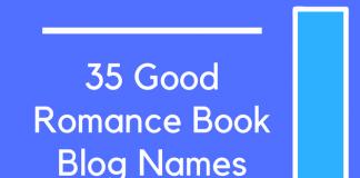 35 Good Romance Book Blog Names