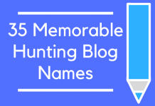 35 Memorable Hunting Blog Names