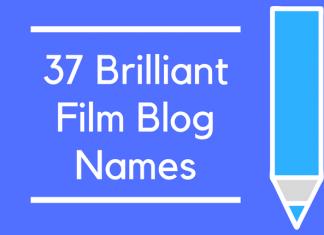 37 Brilliant Film Blog Names