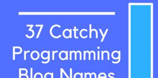37 Catchy Programming Blog Names