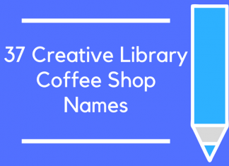 37 Creative Library Coffee Shop Names