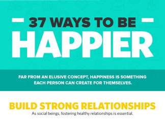 37 Ways to Acheive Happiness