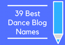 39 Best Dance Blog Names