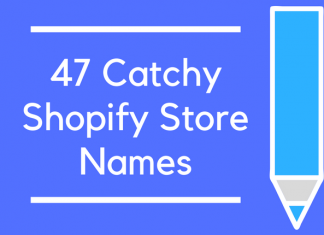 47 Catchy Shopify Store Names