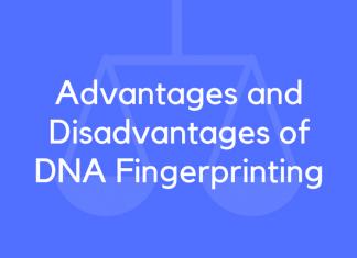 Advantages and Disadvantages of DNA Fingerprinting