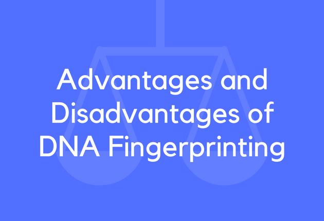 mandatory dna fingerprinting pros cons