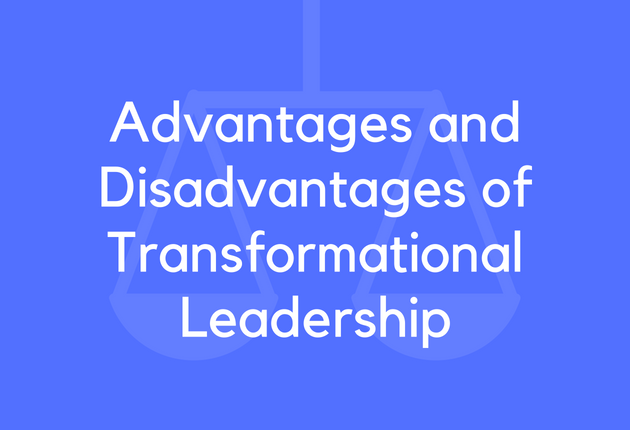 transformational leadership advantages Read chapter 4 transformational leadership and evidence-based management: building on the revolutionary institute of medicine reports to err is human and.