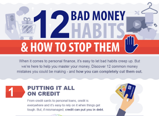 12 Bad Spending Habits that Wreck Bank Accounts