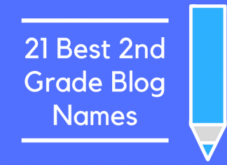 21 Best 2nd Grade Blog Names