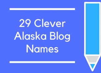 29 Clever Alaska Blog Names