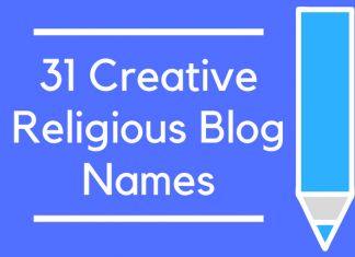 31 Creative Religious Blog Names