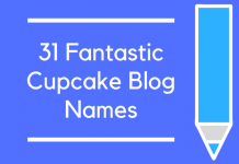 31 Fantastic Cupcake Blog Names