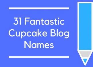 31 Fantastic Cupcake Blog Names