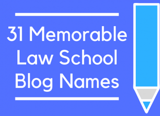 31 Memorable Law School Blog Names