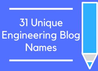 31 Unique Engineering Blog Names