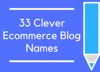 33 Clever Ecommerce Blog Names