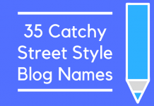 35 Catchy Street Style Blog Names
