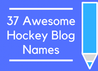 37 Awesome Hockey Blog Names