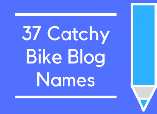 37 Catchy Bike Blog Names