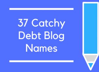 37 Catchy Debt Blog Names