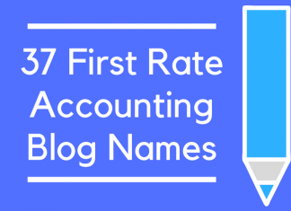 37 First Rate Accounting Blog Names