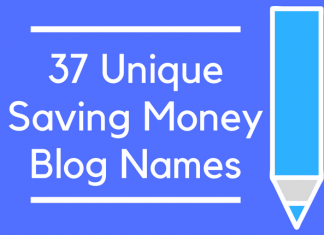 37 Unique Saving Money Blog Names