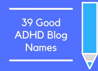 39 Good ADHD Blog Names