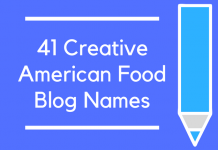 41 Creative American Food Blog Names