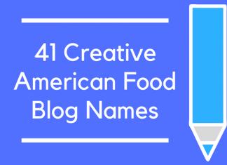 41 Creative American Food Blog Names