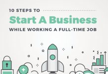 10 Steps to Starting a Business While Working Full-Time